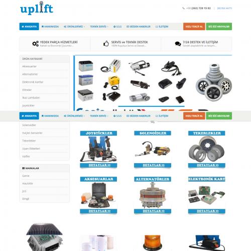 Uplift  Platform Yedek Parça ve Servisi   Platform Yedek Parça ve Servisinde Güvenilir Ortağınız